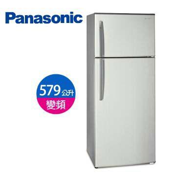 【福利品 】Panasonic 579公升1級 雙門變頻冰箱(NR-B585TV-HL(珍珠銀))