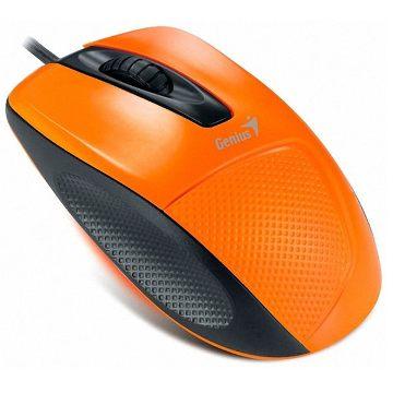 Genius 光學滑鼠(橘)(極光精靈 DX-150)