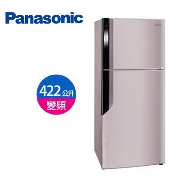 Panasonic 422公升ECONAVI雙門變頻冰箱(NR-B426GV-P(紫羅蘭))