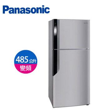 Panasonic 485公升ECONAVI雙門變頻冰箱(NR-B486GV-DH(燦銀灰))