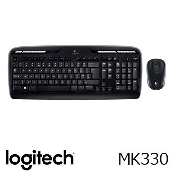 羅技R 無線滑鼠鍵盤組MK330(920-004489)