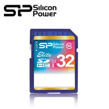 【32G】廣穎SDHC UHS-1 C10記憶卡(SP032GBSDHAU1V10)
