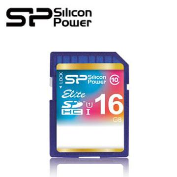 【16G】廣穎SDHC UHS-1 /C10記憶卡(SP016GBSDHAU1V10)