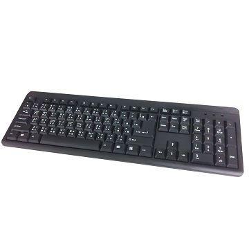 R-driver 氣樂LIGHT USB標準鍵盤(RKB-1301-UBK)