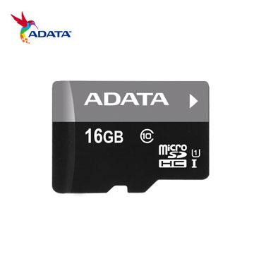 【U1】威剛 Micro SD C10 16G記憶卡(AUSDH16GUICL10-RA1)
