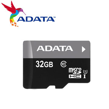 【U1】威剛 Micro SD C10 32G記憶卡(AUSDH32GUICL10-RA1)