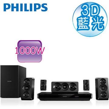 【福利品】 飛利浦智慧連網3D藍光劇院組 HTB3510(HTB3510)