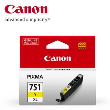 CANON 751XL 大容量黃色墨水匣
