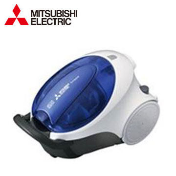 MITSUBISHI 日本進口紙袋型吸塵器(TC-F125JTW-A(透明藍))
