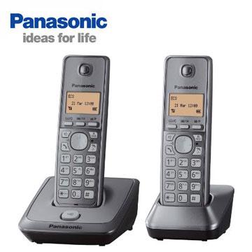 Panasonic免持對講雙機數位無線電話(KX-TG2712TW)