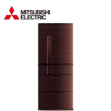 【福利品】MITSUBISHI635公升瞬冷凍節能六門冰箱(閃耀棕)