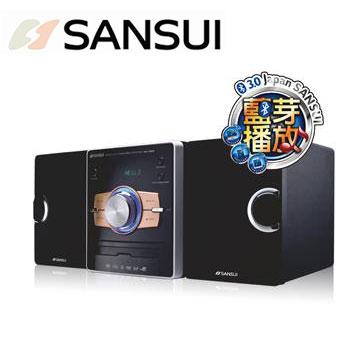 SANSUI 藍牙/DVD組合音響 MS-655(MS-655)