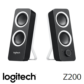 羅技 Logitech Z200 多媒體音箱喇叭 - 黑