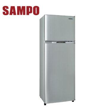 聲寶 250公升1級雙門冰箱(SR-L25G(S2)璀璨銀)