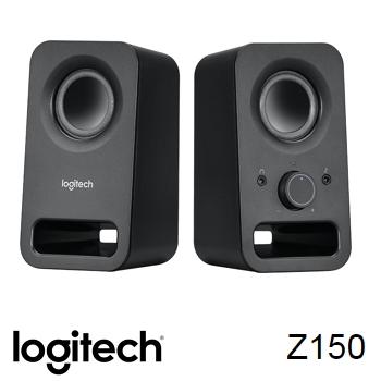 羅技 Logitech Z150 USB 供電音箱喇叭-黑(980-000868)