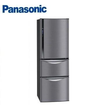 Panasonic 385公升ECO NAVI三門變頻冰箱(NR-C387HV-K(極致黑))