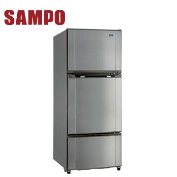 聲寶 580公升三門冰箱(SR-M58GV(S3)不鏽鋼色)