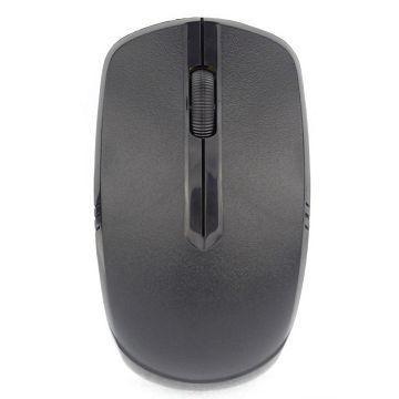 Q PNP 2.4G NANO極智無線光學滑鼠-黑(QMS-1401WBK)