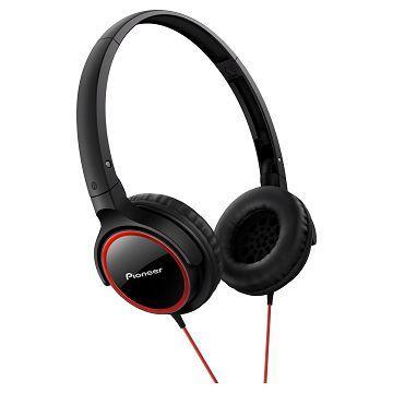 Pioneer SE-MJ512耳罩式耳機-紅(SE-MJ512-R)