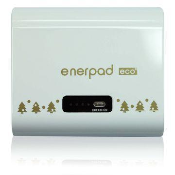 【5200mAh】enerpad 行動電源-白(PB-5200DS-白)