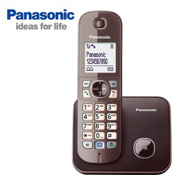 Panasonic中文顯示數位無線電話(KX-TG6811TWM)