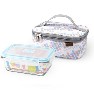 FOR U點馨玻璃保鮮盒提袋組(FU-H800M)