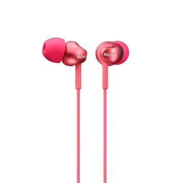 SONY MDR-EX110LP入耳式耳機-粉紅(MDREX110LPPQE)