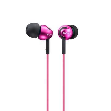 SONY MDR-EX110LP入耳式耳機-粉紫(MDREX110LPPIE)