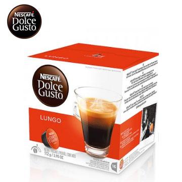 雀巢美式濃黑咖啡膠囊(CAFFE LUNGO)