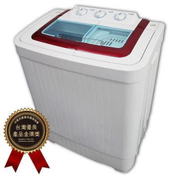 晶華ZANWA 4公斤雙槽洗滌機(ZW-40S)