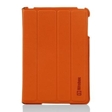 Hitobox SlimFolio iPad mini站立皮套-橘(HB-IPADM-SLIM-01O)
