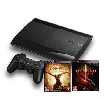 PS3 500G + 暗黑破壞神3 送 戰神,限量10組()