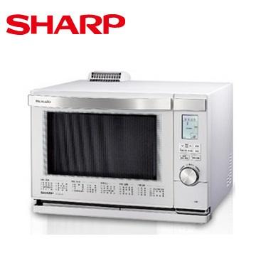 【展示機】SHARP 26L HEALSIO水波爐(白)(AX-MX3T(W))