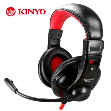KINYO 超重低音立體聲耳機麥克風(EM-3651)
