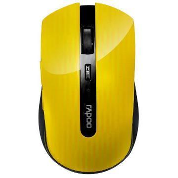 雷柏7200P 5G無線光學滑鼠-黃(7200P-黃)