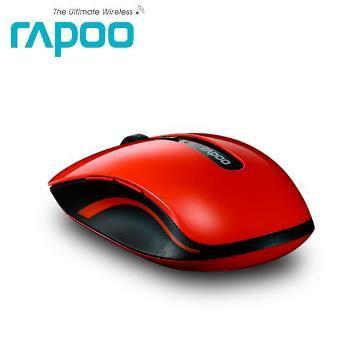 雷柏7200P 5G無線光學滑鼠-紅(7200P-紅)