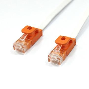 群加CAT.6網路線-1M白(C65B1FLW)
