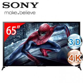 【展示機】SONY 65型3D 4K智慧型連網電視(KD-65X9500B)