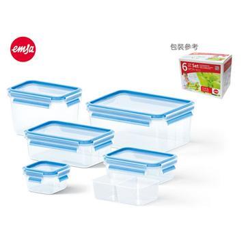 【福利品】德國EMSA保鮮盒 6件組