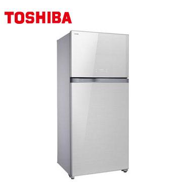 TOSHIBA 608公升雙門鏡面變頻冰箱(GR-WG66TDZ(ZW))