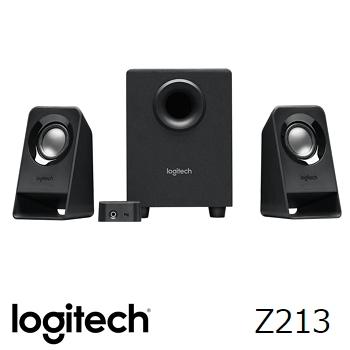 羅技 Logitech Z213 2.1 聲道音箱喇叭系統(980-000947)