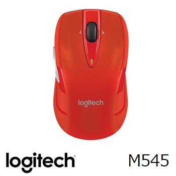 羅技 Logitech M545 無線滑鼠 - 紅
