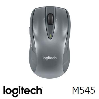羅技 無線滑鼠 M545-銀(910-004101)