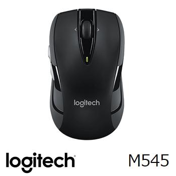 羅技 無線滑鼠 M545-黑(910-004058)