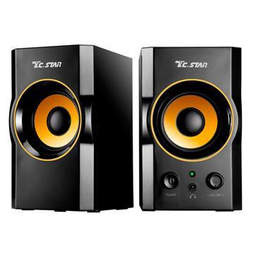 【拆封品】連鈺USB2.0多媒體喇叭TCS2423