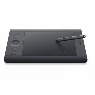 Wacom Intous Pro專業版 Touch(M)繪圖板-黑(PTH-651/K1-C)