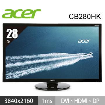 【28型】ACER CB280HK TN 液晶顯示器(CB280HK)