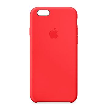 iPhone 6 矽膠護套 紅色(MGQH2FE/A)