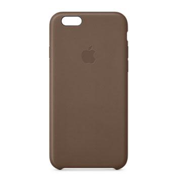 iPhone 6 Plus 皮革護套 橄欖棕(MGQR2FE/A)