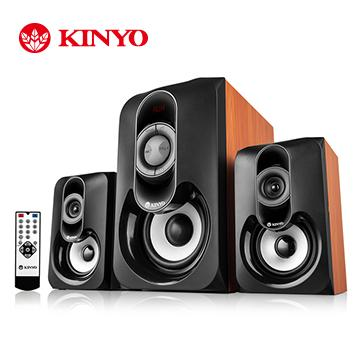 KINYO 2.1聲道多媒體讀卡音箱(KY-7356)